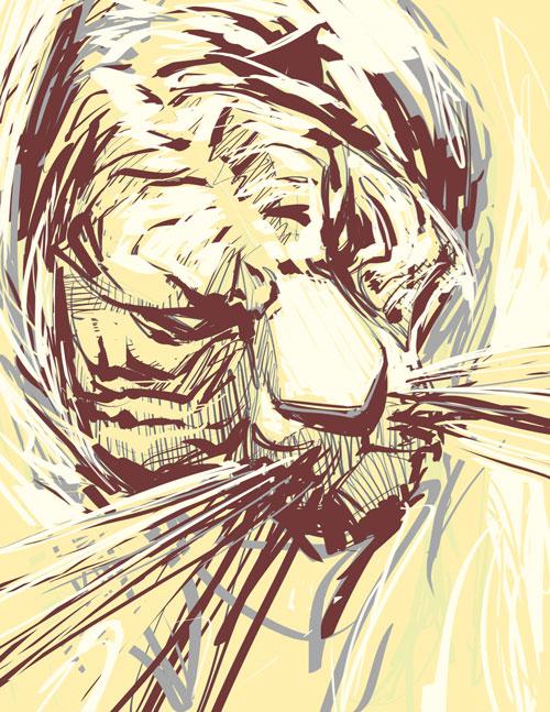 Gold Tiger by biz02