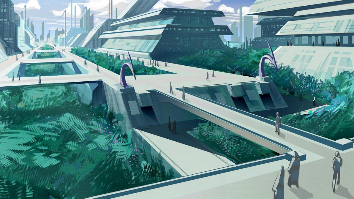 Future Cityscape by biz20