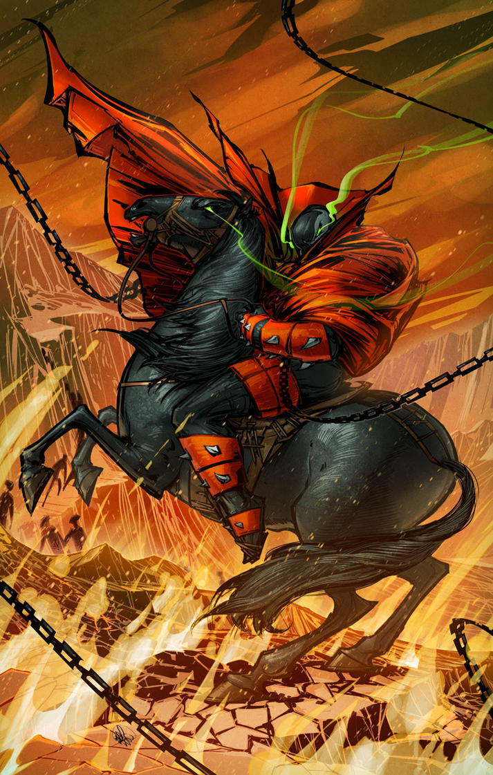 Spawn on a Horse by BillyNunez