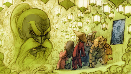 The Wizard of Oz in China by BillyNunez