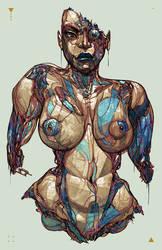 Future Flesh A by BillyNunez