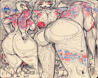 sketchbook2014 - 4 by BillyNunez