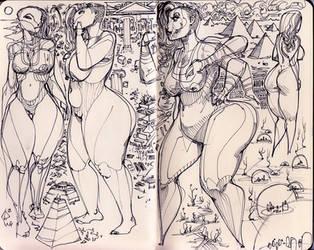 sketchbook2014 - 5 by BillyNunez