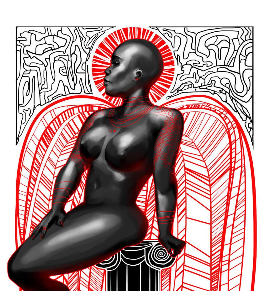 Ebony Angel by biz20