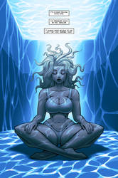 MAVEN meditates underwater
