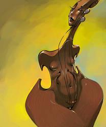 Chocolate Cello by BillyNunez