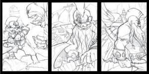 Warhammer drawings