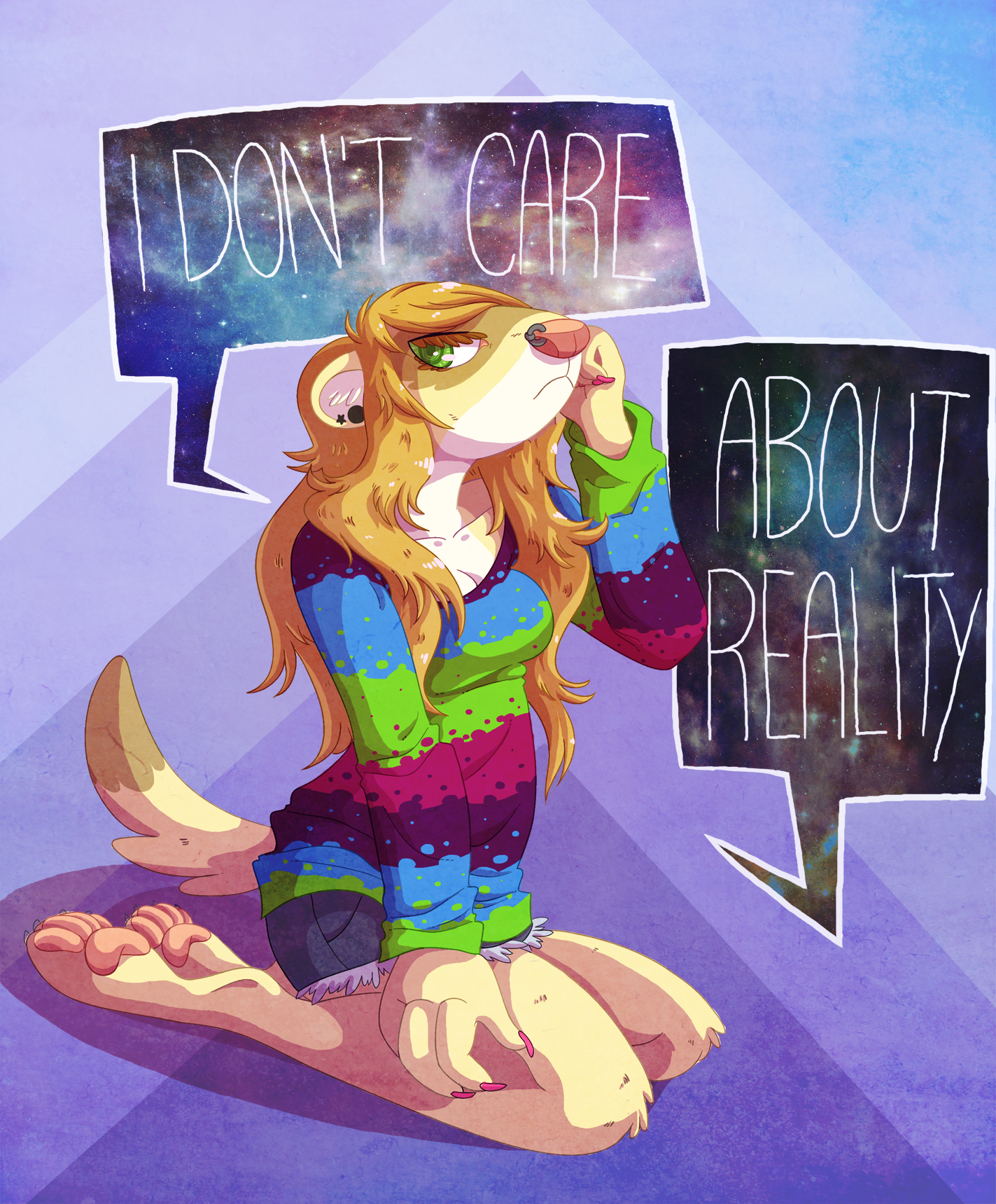 Reality Is Boring by CatsnCupcakes