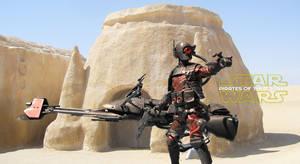 Bounty hunter Tatooine