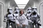 Leia Captured, A New Hope