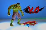 Hulk v Supergirl 13