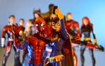 Batgirl visits the Avengers