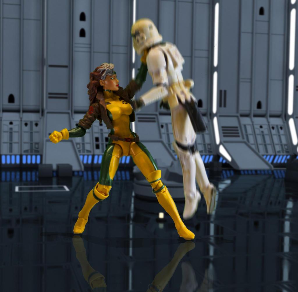 Rogue vs Stormtrooper