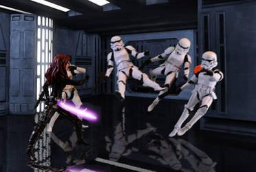 Mara vs Stormtroopers