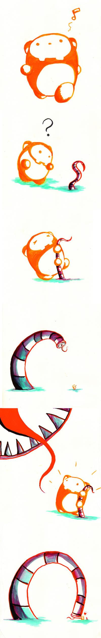 wormer by orangehamster