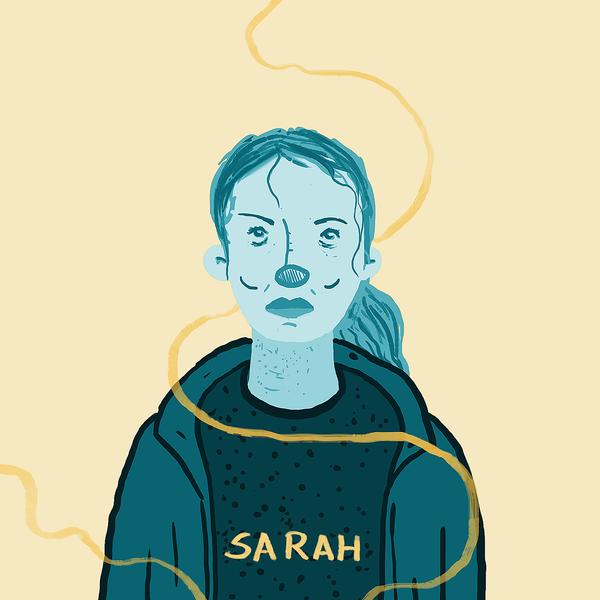 Sarah by orangehamster