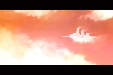 Cloud Village by orangehamster