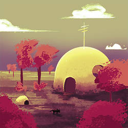 Dome House by orangehamster