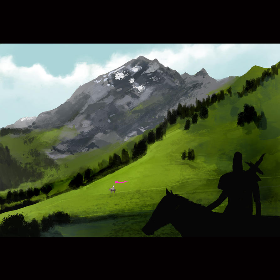 Knights Mountain by orangehamster