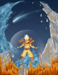 Avatar - Sozin's Comet Poster