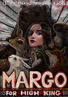 Margo for High King-Magicians FanArt Contest Entry by RicardoFerreira