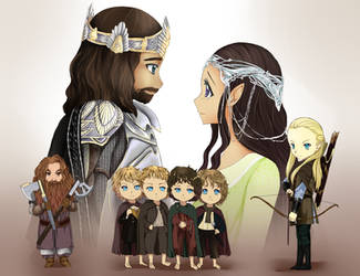 The lord of the Rings by lepler