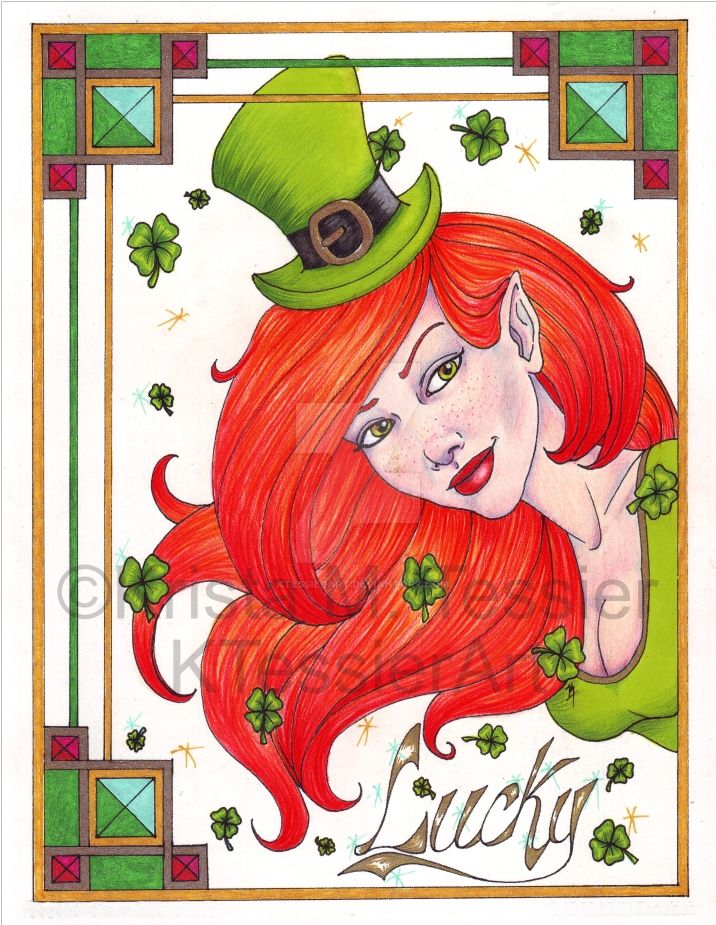 Happy Saint Patrick's Day! by KTessierArt