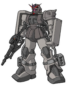 Zaku 2 Gundam by DaiGu...