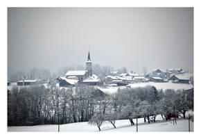 La  Joux sous la neige by ameliasantos