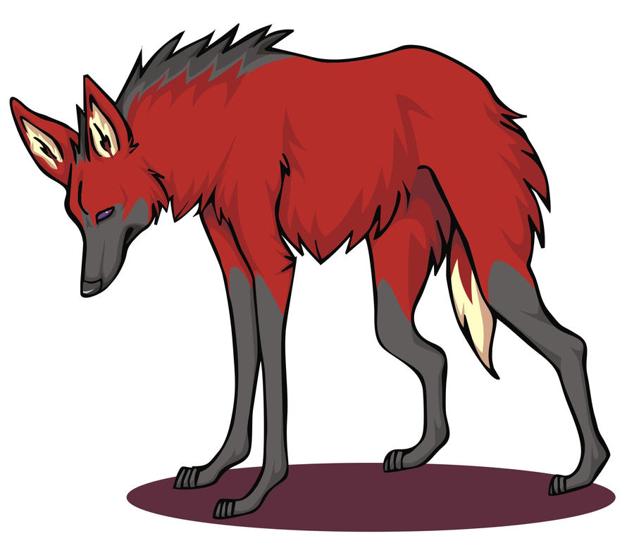 How To Draw A Maned Wolf: Dark Maned Wolf By Nanaphiroth On DeviantArt