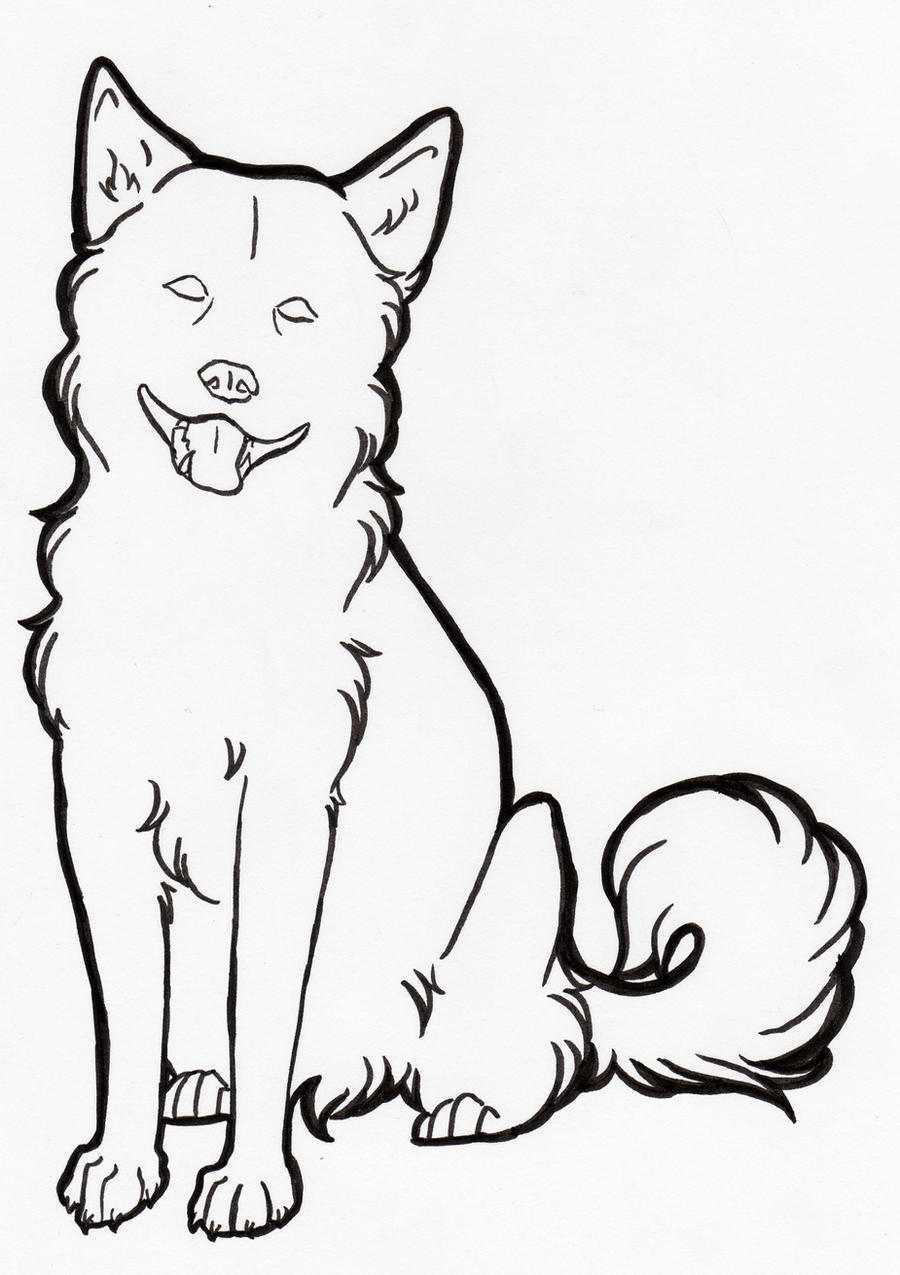 Line Drawing Of A Dog S Face : Images about mallar on pinterest coloring pages
