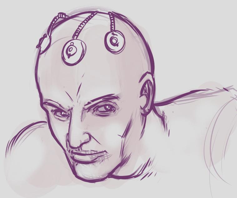 Brainiac by jerrybraccia