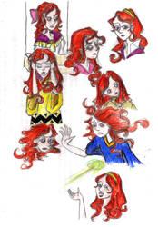 Sketchbook - 8 - Ariana by Rebellious-Phoenix
