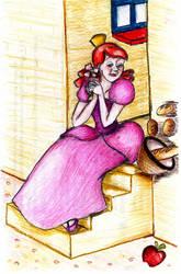 Sketchbook - 6 - Anastasia by Rebellious-Phoenix