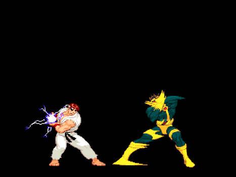 mugen - ryu vs cyclops