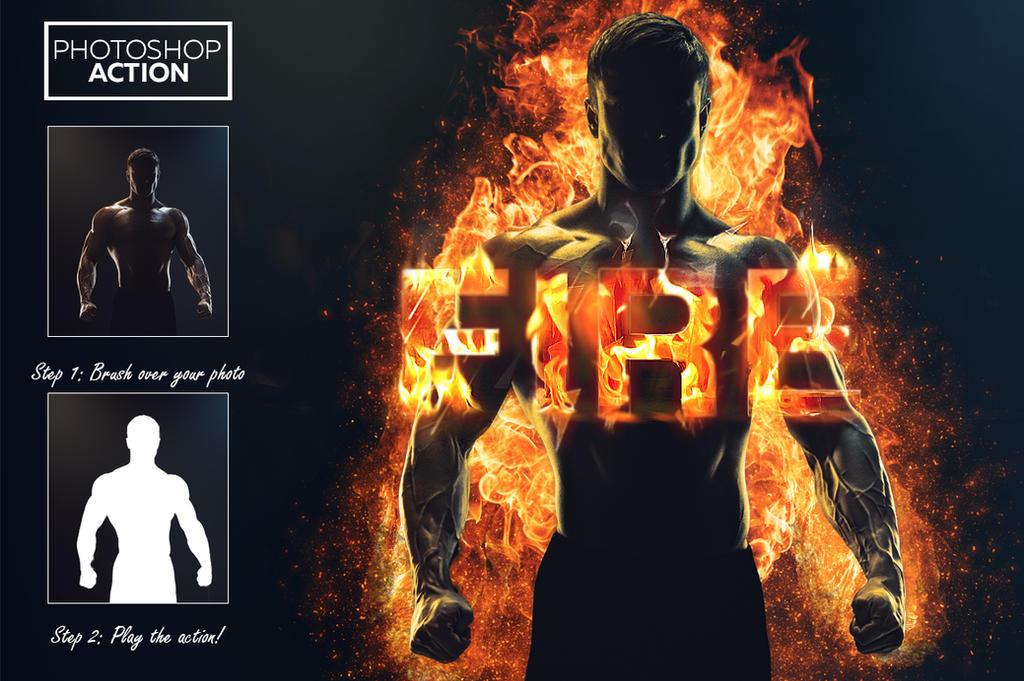 Fire Effect - Photoshop Action by Willa-Willa on DeviantArt
