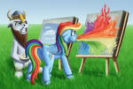 Typical Art-Battle