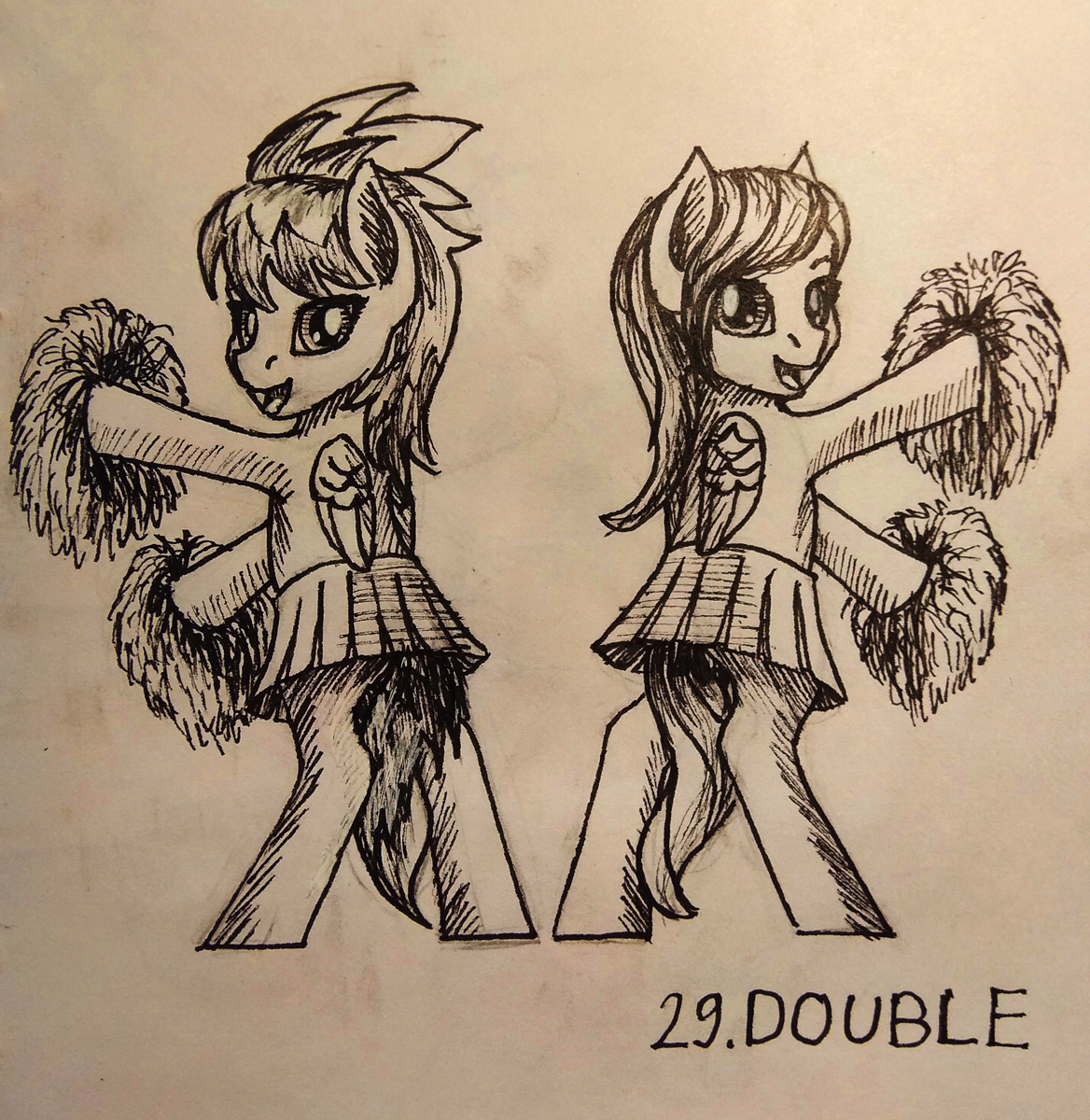 [Inktober] Day 29: Double