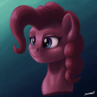 Pinkie Pie's Bust by Sa1ntMax