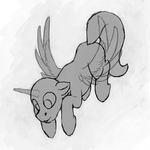 [YCH] Curious flying pone by Sa1ntMax