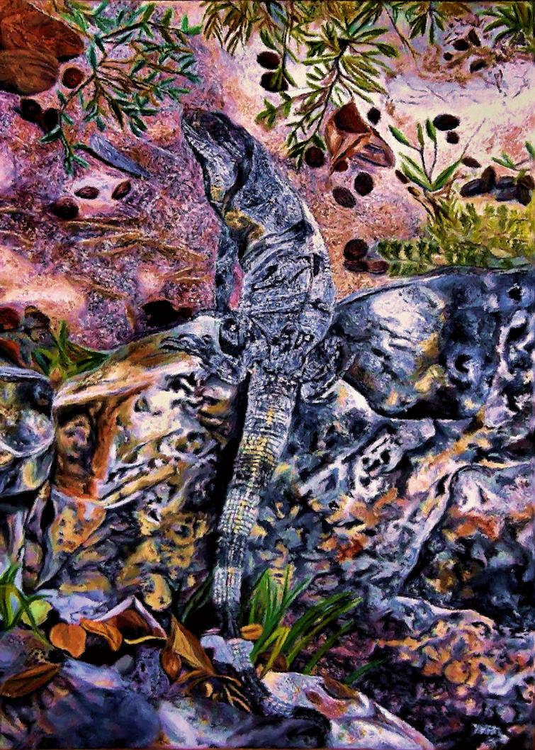 Black Iguana - by Mararda by montag451