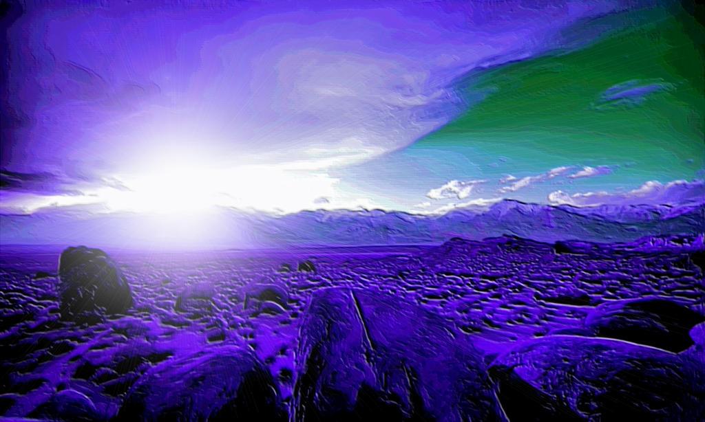 Alien Landscape by montag451