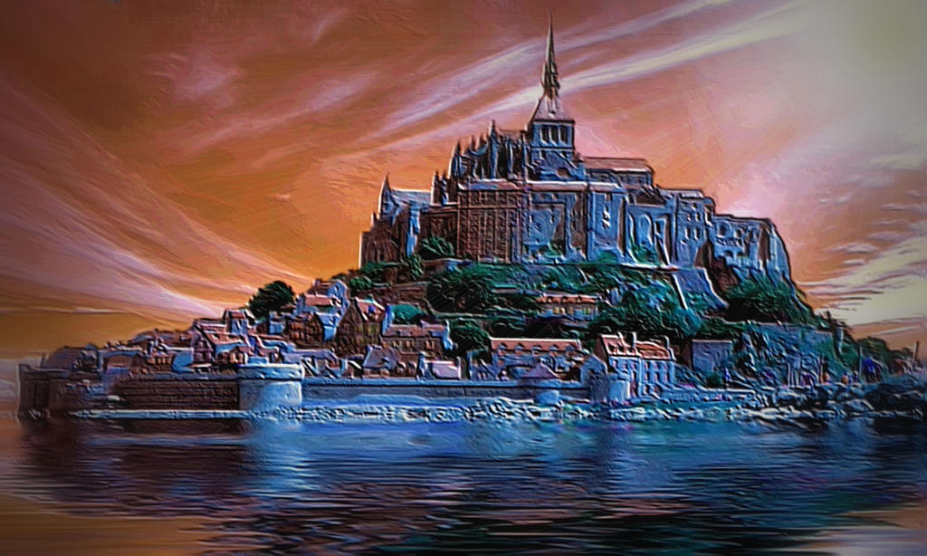 Castle Keep by montag451