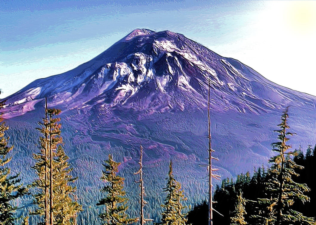 Mount St. Helens by montag451