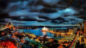 Sydney Cityscape by montag451