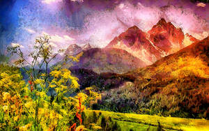 Mountain Dreamscape by montag451