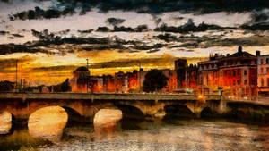 Dublin Cityscape by montag451