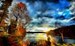 Autumn's Sunset