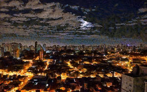 Sao Paulo Cityscape by montag451