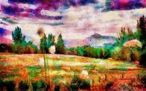 Arrowtown, NZ Dreamscape by montag451